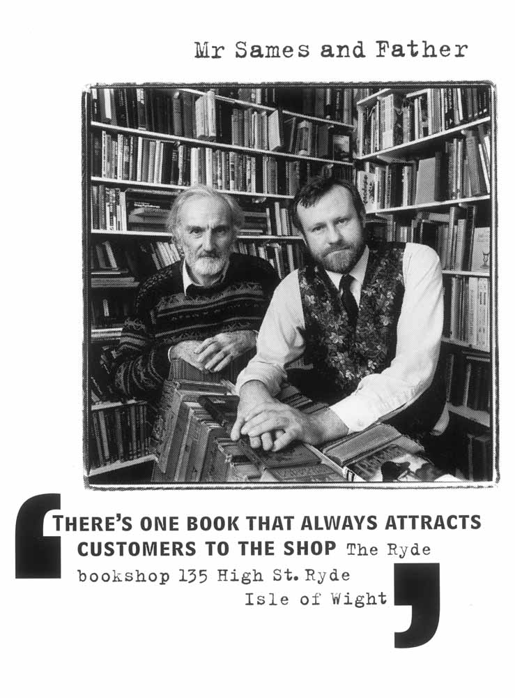 'There's One book that always attracts customers to the shop', Yellow Pages advertising campain