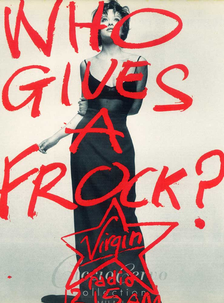 Virgin Who Gives A Frock