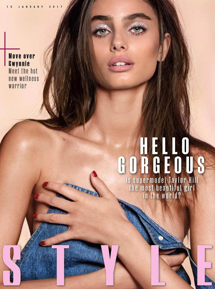 Taylor Hill photographed by Donna trope for Sunday Times Style Magazine